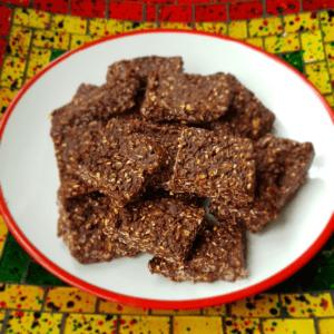 No-Bake Tahini Squares