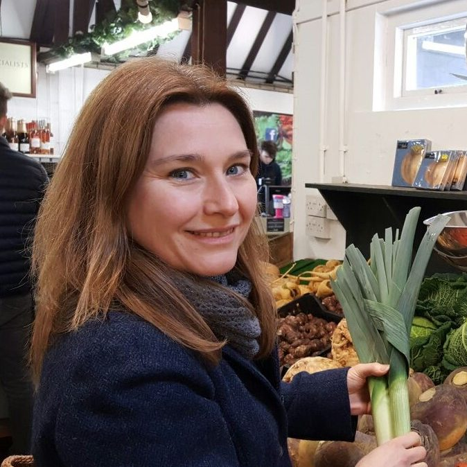 Me with leeks